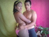webcam parejas Clarissa y rafa
