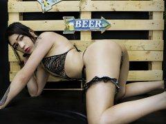 Webcam erótica con Alexa Queen