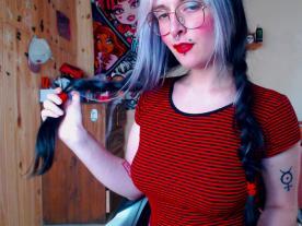 Webcam porno con Begonia