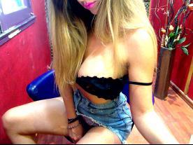 Webcam erótica con Meggan