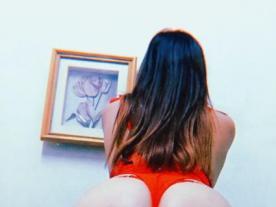 Webcam erótica con Suri