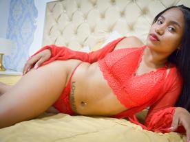 Webcam erótica con Diana Santana