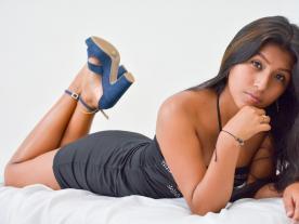 Webcam erótica con Karina Plazas