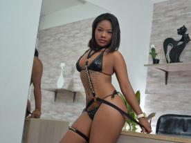 Webcam erótica con Lila