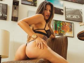 Webcam erótica con Karla Thompson