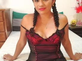 Webcam erótica con Danna Mex