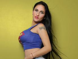 Webcam erótica con Aurora Hot