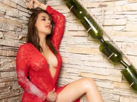 Webcam erótica con Perla Boom